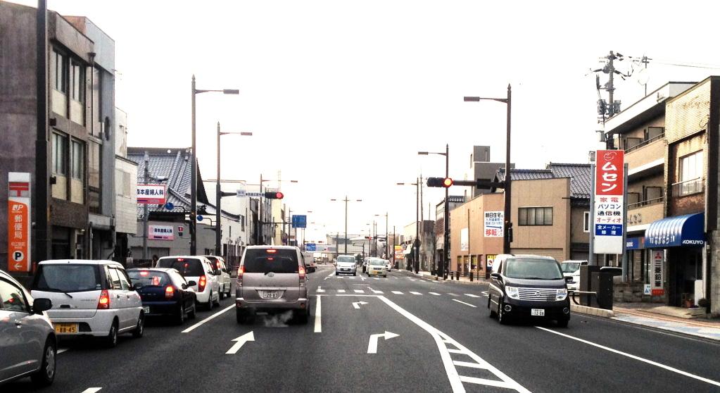 9号線を米子、松江駅方面からお越しの場合